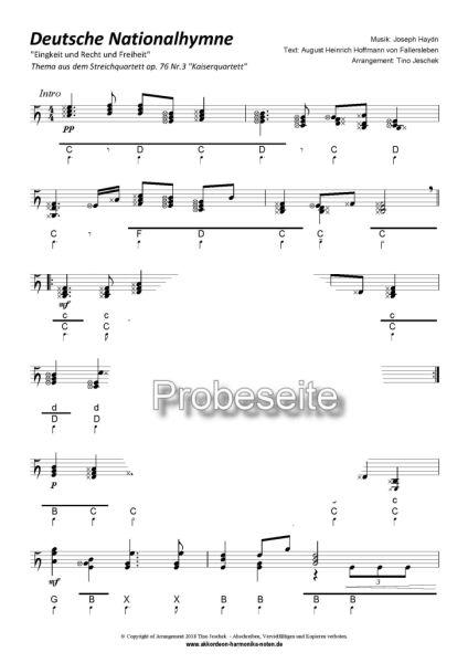 """""""Deutsche Nationalhymne"""" Steirische Harmonika Tino Jeschek"""