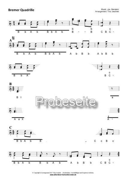 """Bremer Quadrille"" - Seite 1"