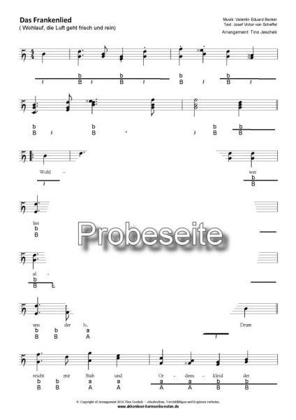 """""""Das Frankenlied"""" - Seite 1"""