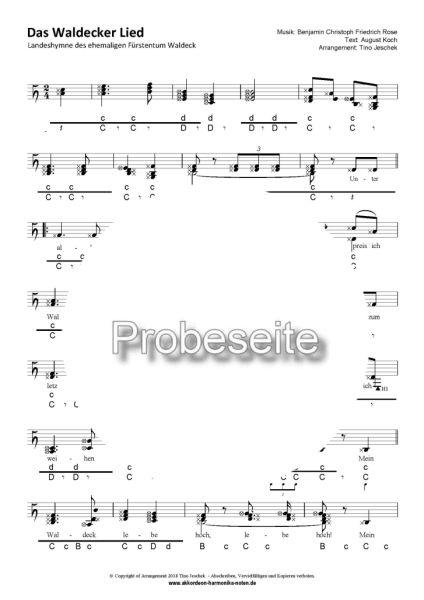 """""""Das Waldecker Lied"""" Steirische Harmonika"""